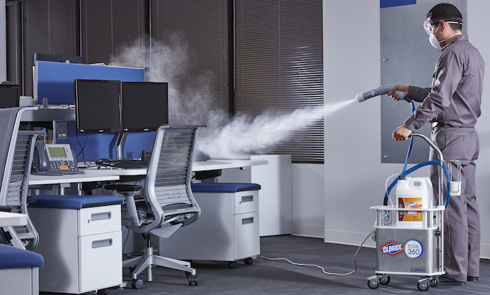 Disinfecting and sterilizing services for home & office