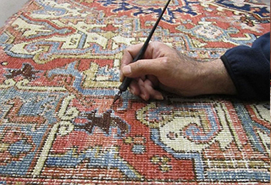 Oriental Rug Color Restoration